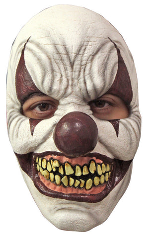 Chomp Clown Mask  Halloween  It  Evil Laugh  Latex face mask
