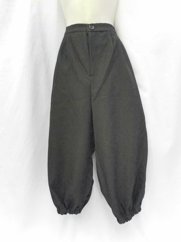 Black Breeches 18th C Medieval Re-enactment Hire quality costume XXL  40