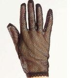 Black fishnet short gloves Victorian Steam Punk 1980's