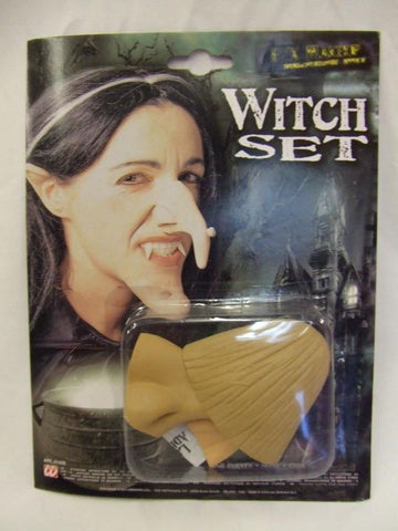 Latex Prosthetic Witch Set ~ Halloween Make-up