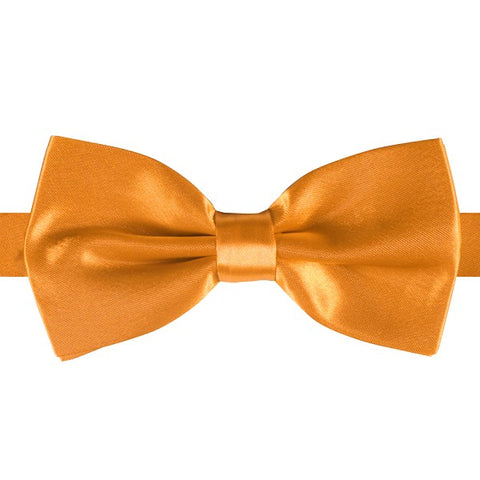 Deluxe Satin Bow Tie - pre-tied Dickie  -  various colours - wedding - adjustable