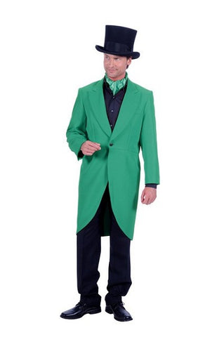 Green Frock coat Victorian Showman Ring master Hire quality Size 46