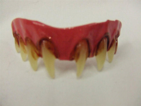Zombie Veneers with Dental Putty  Vampire  Halloween  Werewolf