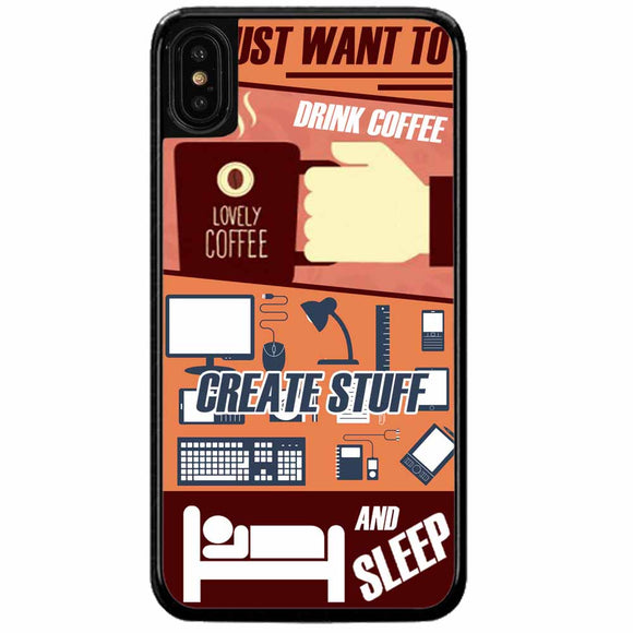 Just Want To iPhone X Case