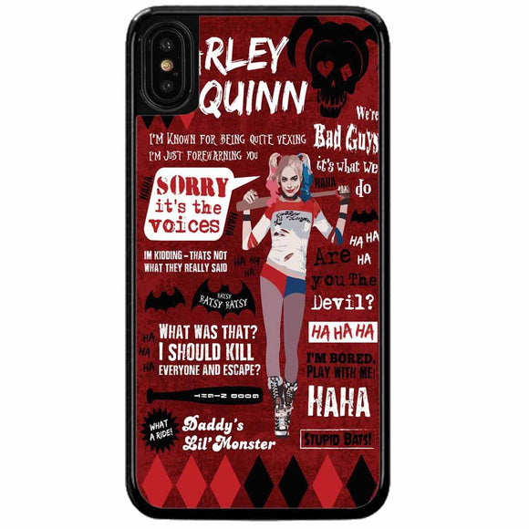Harley Quinn iPhone X Case