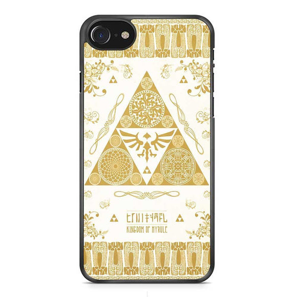 Zelda Trifore Gold iPhone 8 Case