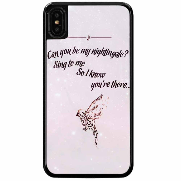 Demi Lovato iPhone X Case
