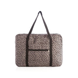 Tara Leopard Foldable Travel Bag