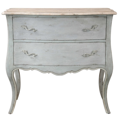 Terr Gray Accent Chest