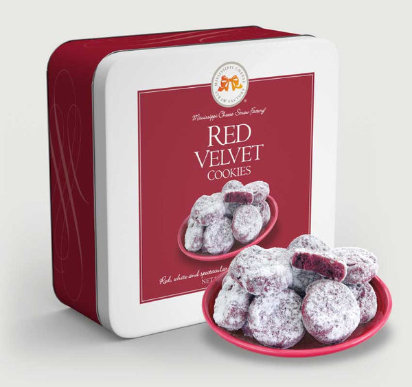MS Red Velvet Straw Tin 10 oz