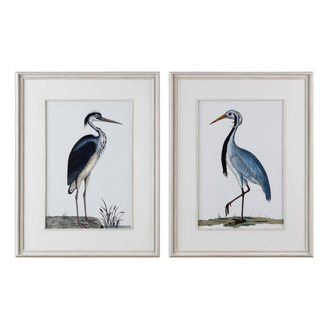 Coastal Bird Prints - Set of 2