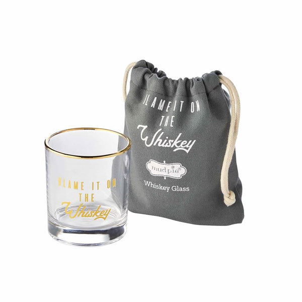 Whiskey Glass in Bag