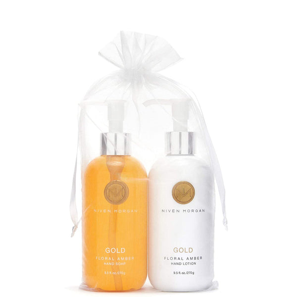 NV Gold Hand Soap & Lotion Set