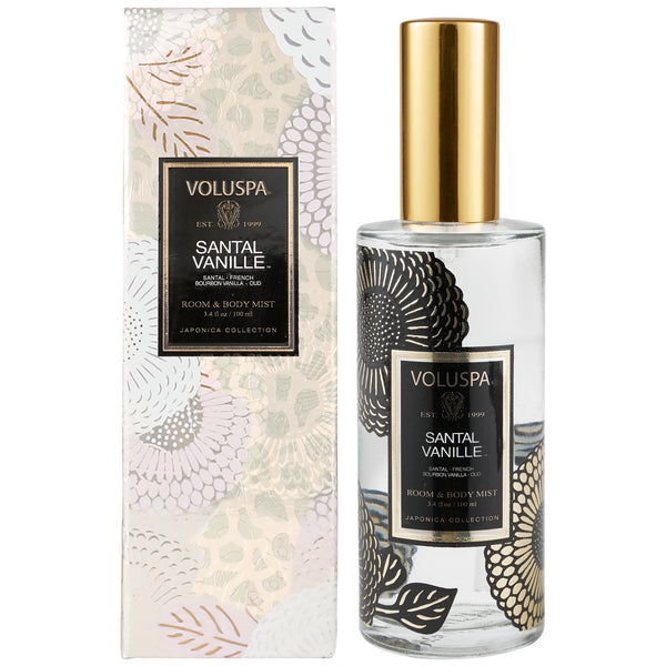 Santal Vanille Room & Body Spray