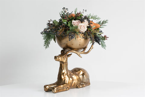 Buck Centerpiece Bowl
