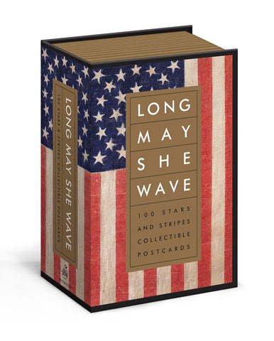 Long May She Wave Flag Postcards
