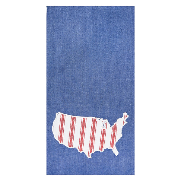 USA Denim Kitchen Towel