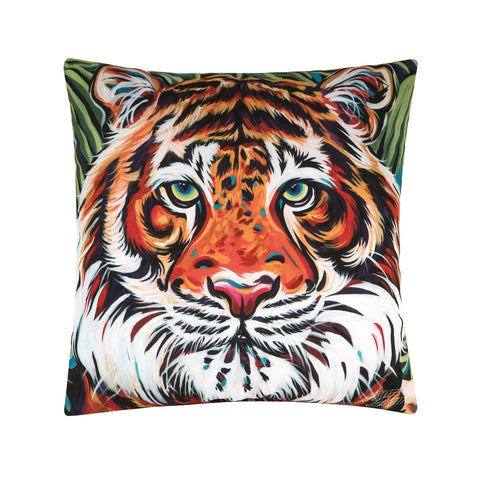 Tiger Indoor/Outdoor Pillow