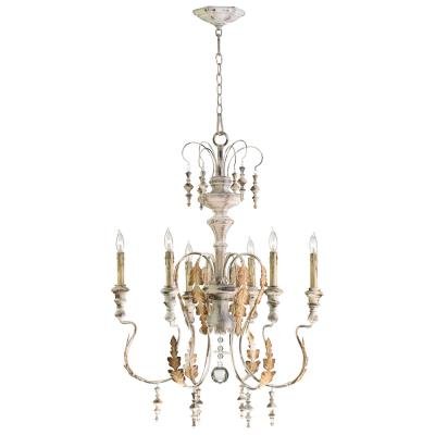 French Style 6 light Chandelier