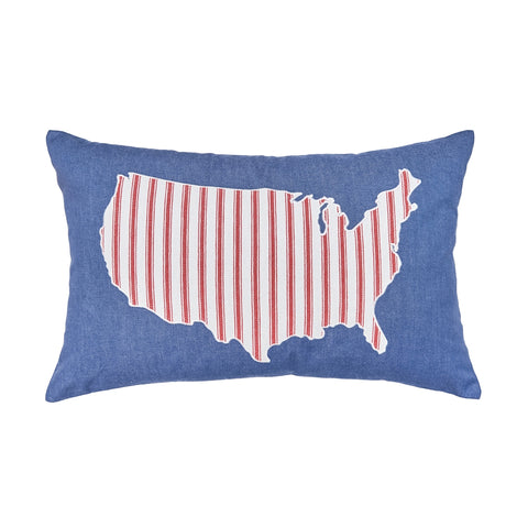 USA Denim Pillow