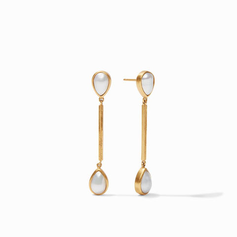 Julie Vos Cassis Pearl Duster Earring