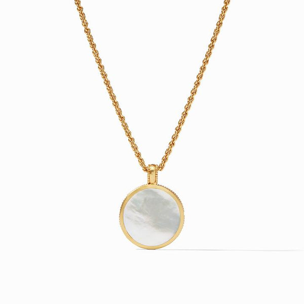 Julie Vos Coin Statement Necklace