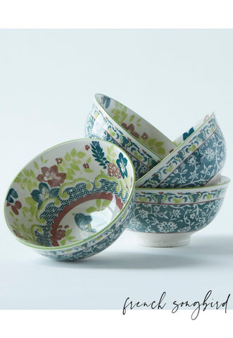 French Song Bird Tidbit Bowl