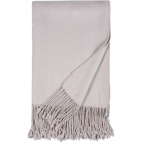 Luxe Fringe Throws