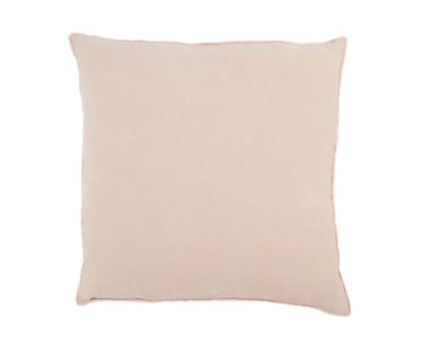 "JL 26"" Rose Smoke Cotton Pillow"