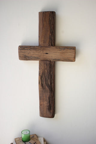 KAL Recycled Wood Cross