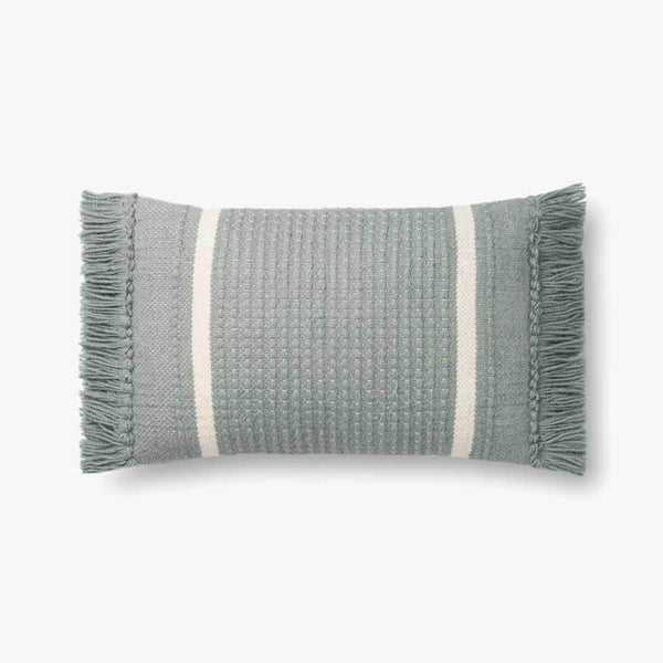 MH Blue 13 x 21 Down Pillow