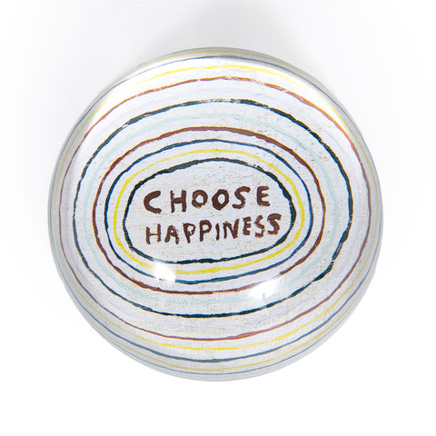 Choose Happiness Paper Weight