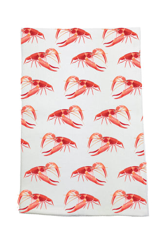 Repeat Crawfish Kitchen towel