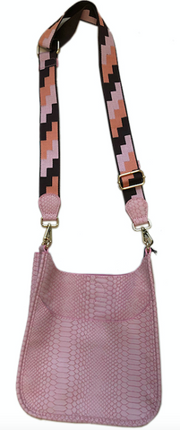 Mini Faux Python Messenger with Strap