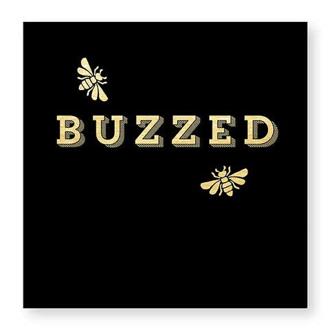 """Buzzed"" Cocktail Napkin"