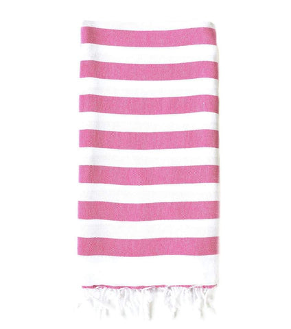 Wide Stripe Rugby Beach Towel