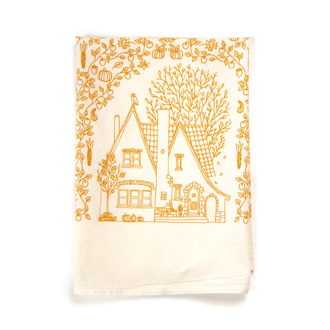 Fall Four Seasons Tea Towel