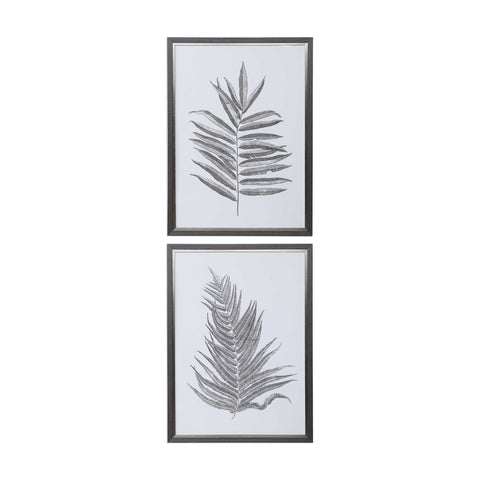 Fern Framed Art Set of 2