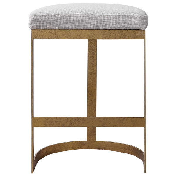 Gold Leaf Counter Stool