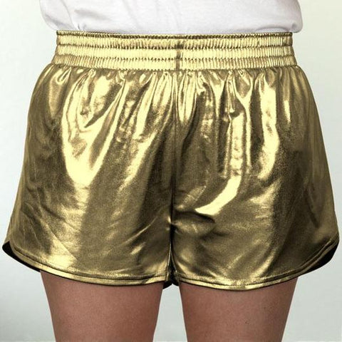 Youth Gold Metallic Short