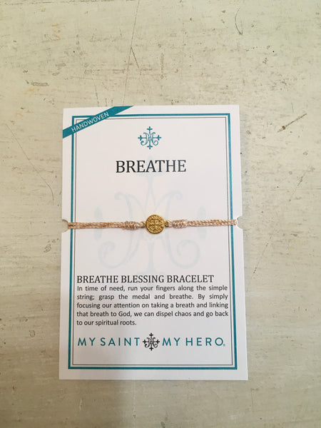 MS Breath Blessing Bracelet Metallic