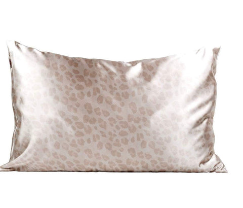 KI Leopard  Satin Pillowcase