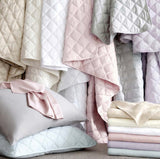 PCH Quilted Silken Solid Coverlet FULL/QUEEN
