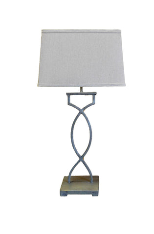 White Wash Table Lamp G1