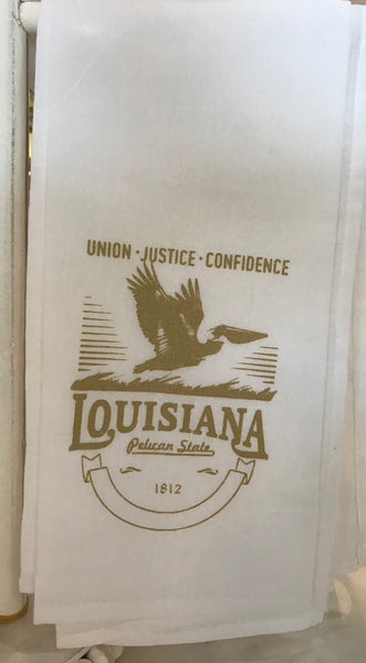 Louisiana Heritage Towel
