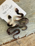 Snake Acetate Earrings