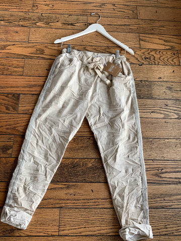 Stretch Crinkle Pant