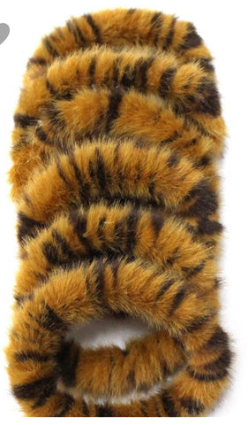 GI Tiger Scrunchies Set of 6