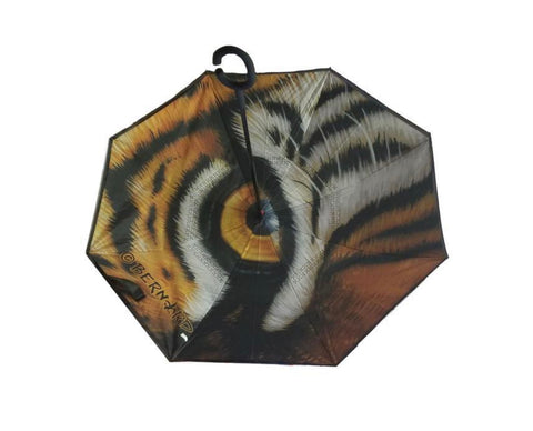 LH Tiger Eye Inverted Umbrella