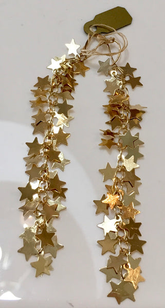LM Gold Star Earrings